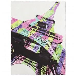 Kokoon Design Canvas Schilderij Rainbow Eiffeltoren Voorkant